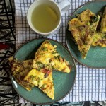 Vegetarian Mother's Day Brunch:  Frittata's and Fresh Citrus Sangria