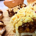 Barbecue Mushroom Sliders with Creamy Coleslaw