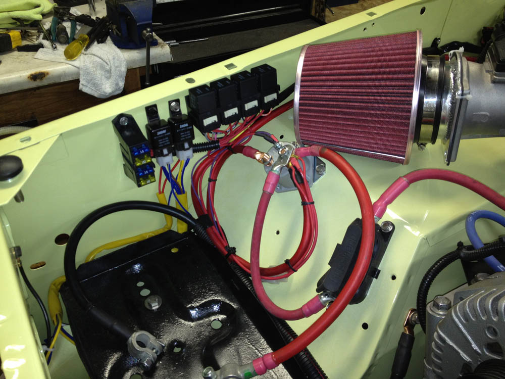 Wiring Harness Early Bronco