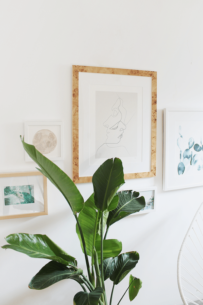 how to create the easiest gallery wall ever | almost makes perfect