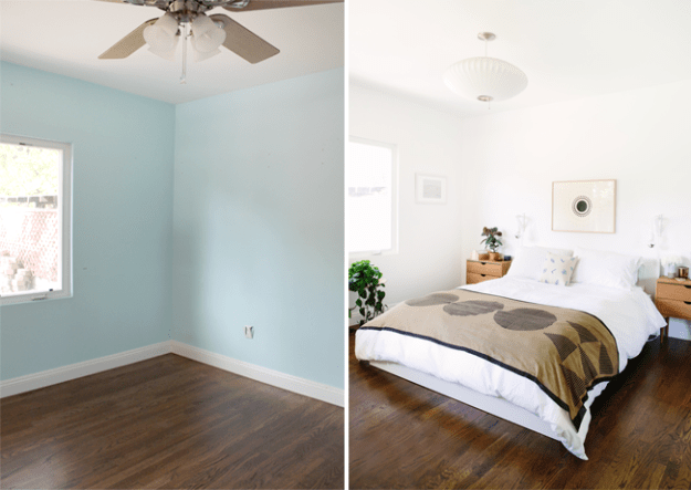 guest room before and after | almost makes perfect