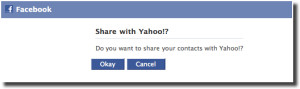 yahoo facebook email auth 300x89 - Social Media Refresh Tip #2: Export Your Friends' Contact Info