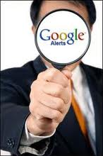 set up google alerts almostsavvy.com
