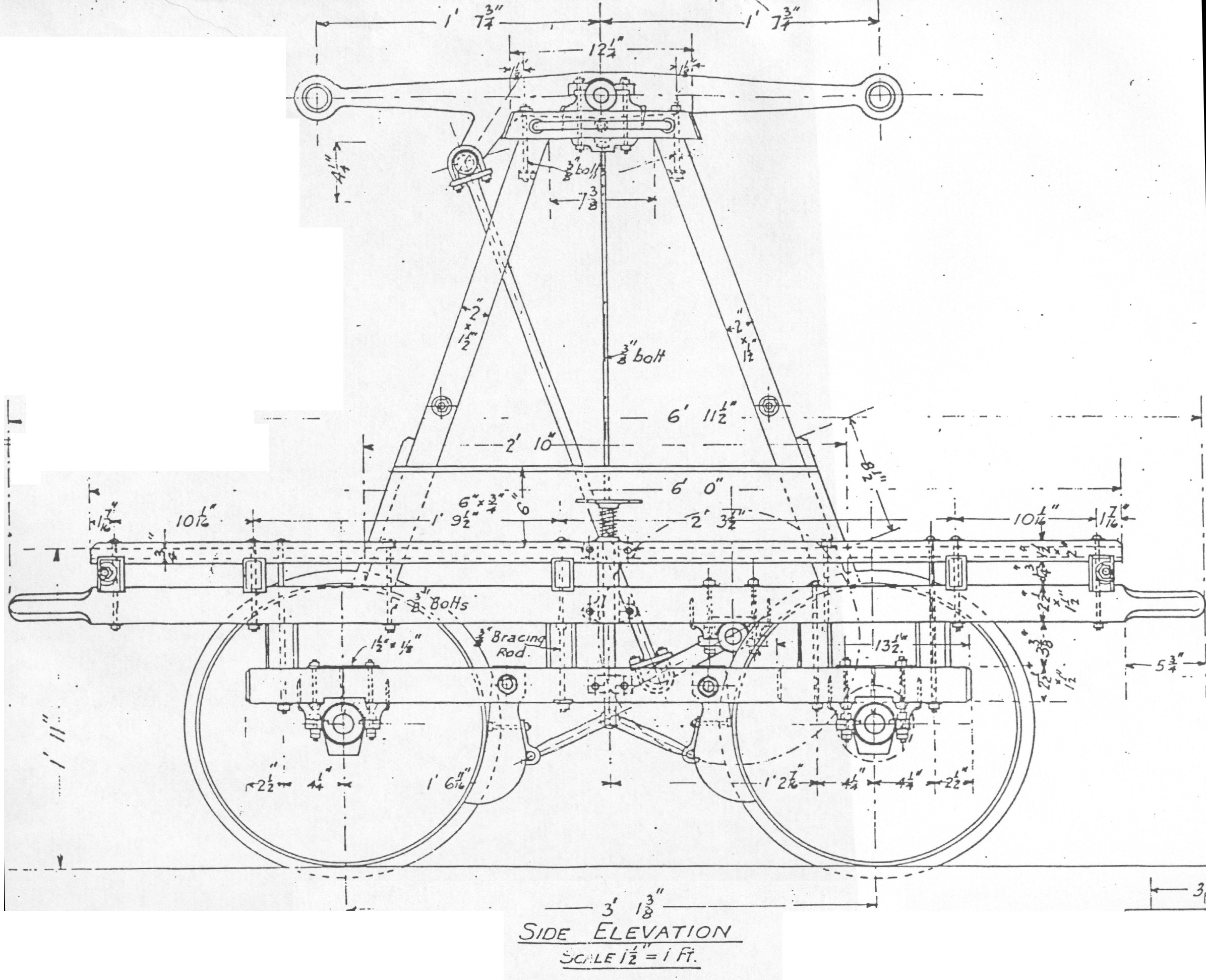 Side Elevation of a Handcar « Almost ScientificAlmost
