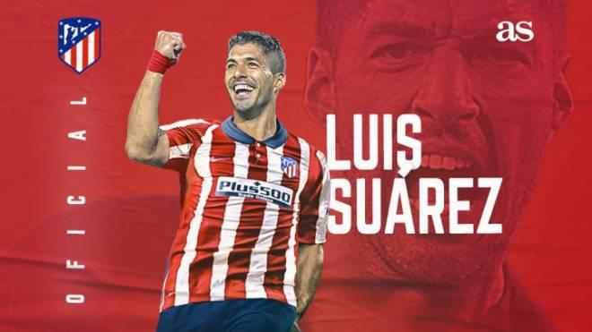 رسميًّا .. أتلتيكو مدريد يتعاقد مع لويس سواريز حتى عام 2022