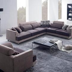 Aria Fabric Modern Sectional Sofa Set Milan Leather كنبات جميلة المرسال