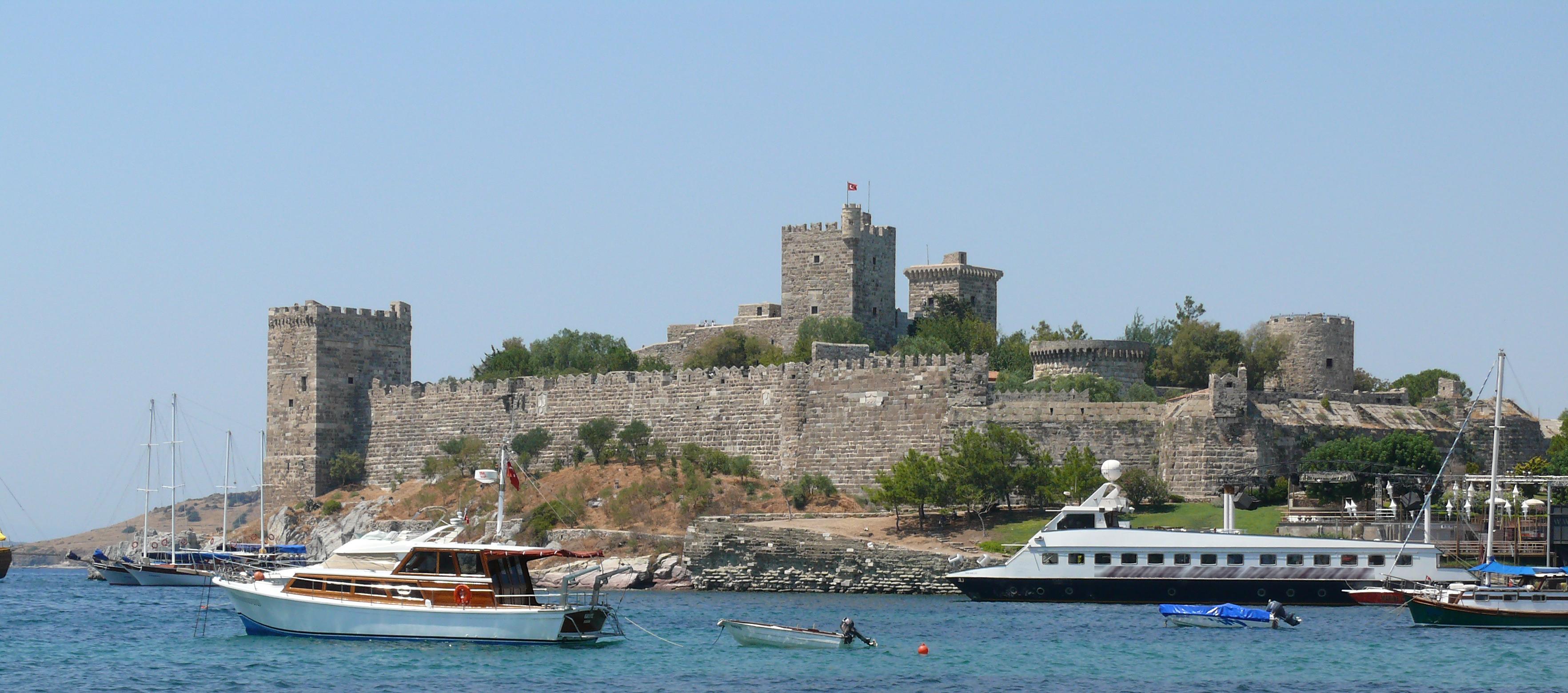 نتيجة بحث الصور عن قلعة بودروم