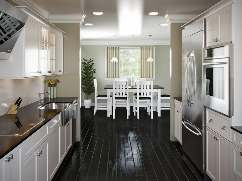 Wide Galley Kitchen Ideas