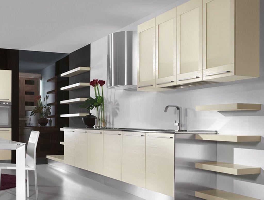 kitchen design ideas 2014 plum decor مطابخ مودرن باللون الابيض واسعة المرسال