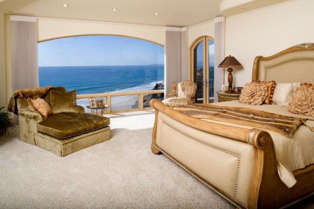اروع ديكورات غرف النوم باللون البيج المرسال