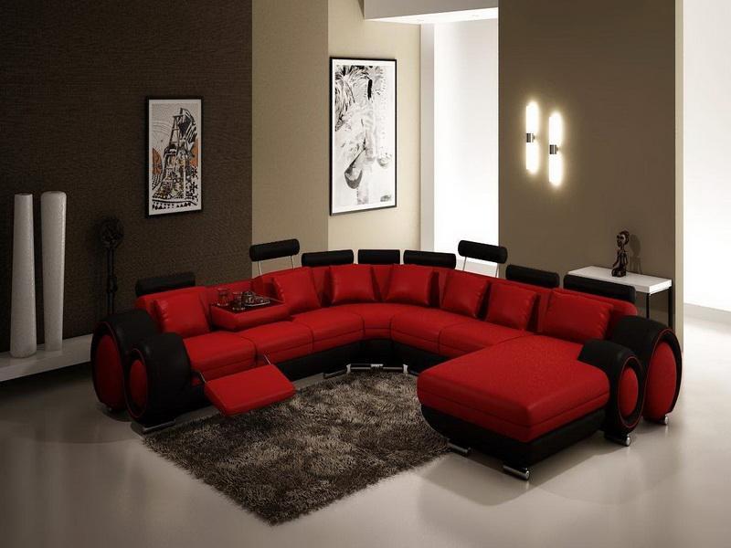 living rooms with grey couches navy blue room decor موديل كنب مريح لغرف جلوس احمر واسود | المرسال