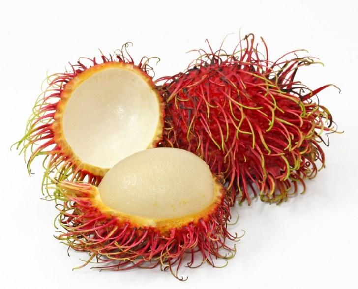 فاكهة الرامبوتان Rambutan