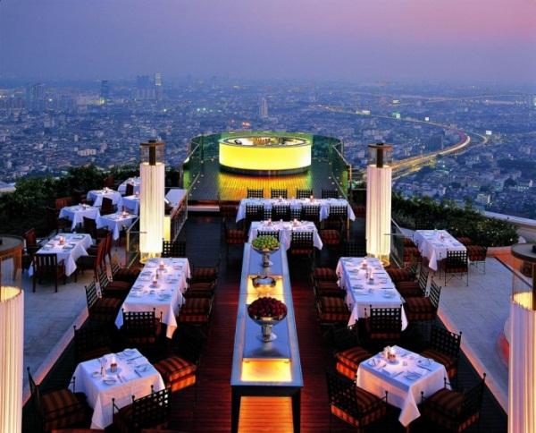 مطعم سيروكو ، بانكوك ، تايلاند