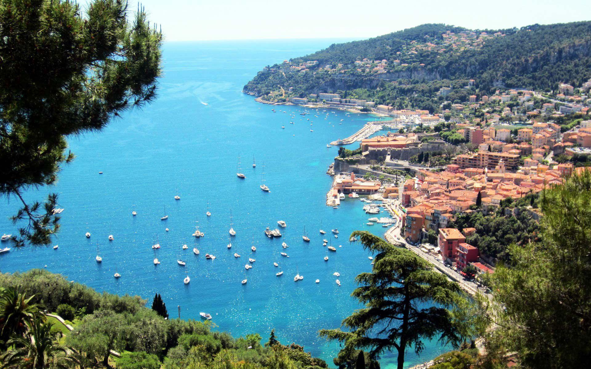 The Côte d'Azur has