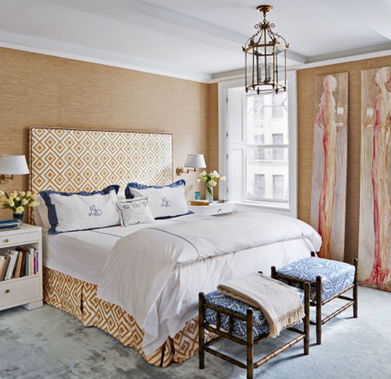 احدث دهانات حوائط غرف النوم المرسال