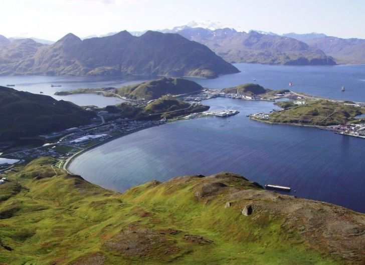 Information on the Aleutian Islands region of Alaska