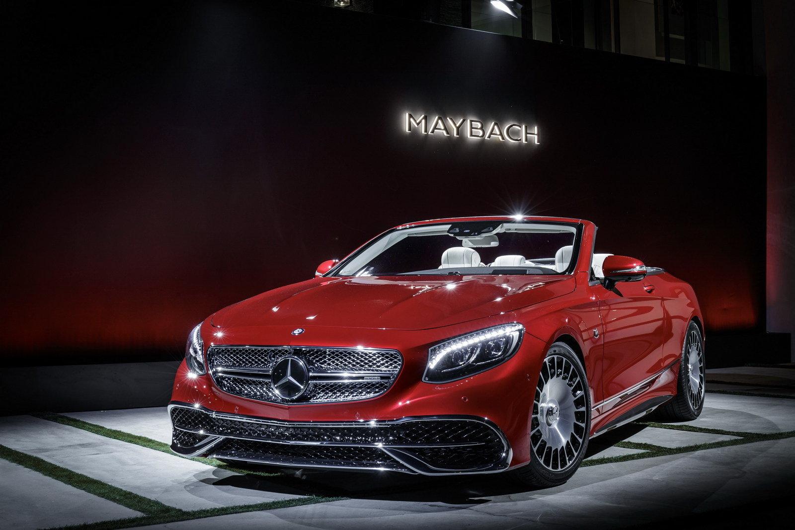 2018 Mercedes-Maybach S650 Cabriolet