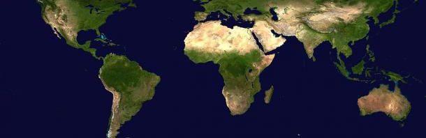 أخطاء فادحة في خريطة العالم المرسال