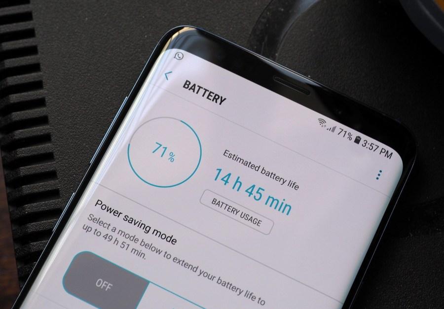 مشاكل بطارية سامسونج Galaxy S9 و خطوات التغلب عليها المرسال
