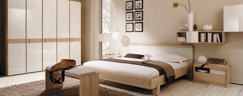 دهانات مختلفة تتناسب مع غرفة النوم الحديثة المرسال
