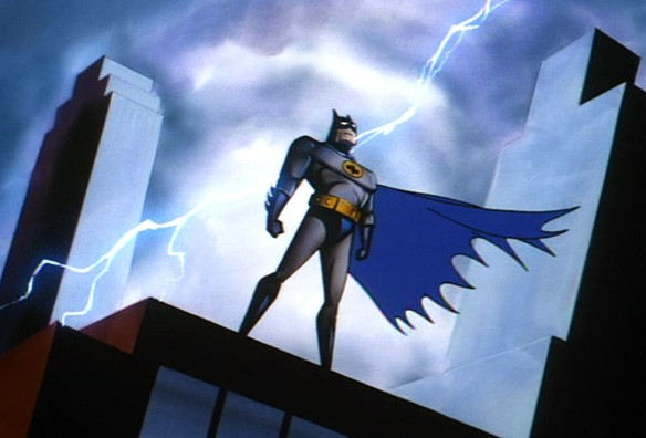 كارتون باتمان المرسال