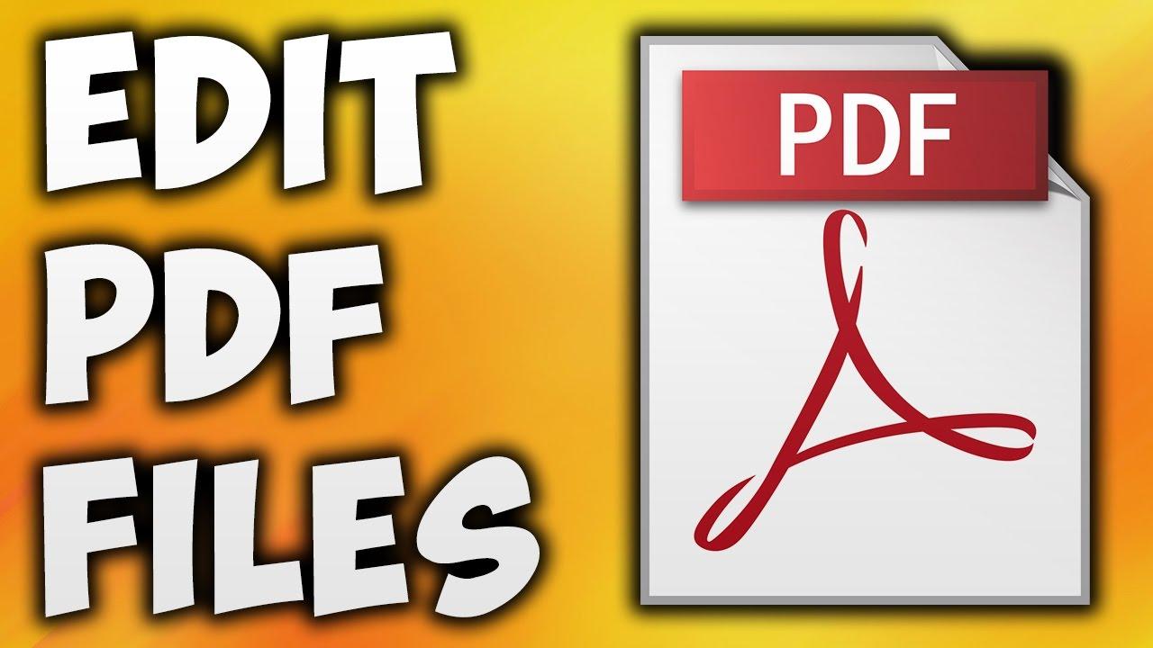 طريقة التعديل على ملف Pdf بدون برامج المرسال