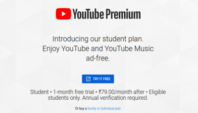 تم أطلاق YouTube Premium و YouTube Music في الهند اليوم أبتدأ من 59 روبية شهرياً