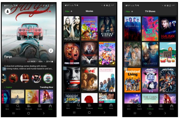 تطبيق Netflix مجاني للاندرويد