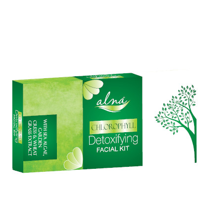 chlorophyll facial kit