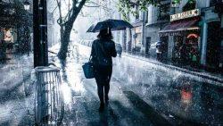تفسير المشي تحت المطر في المنام