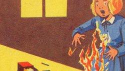 تفسير حلم النار تحرقني في المنام