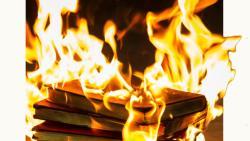 تفسير حلم حرق الكتب بالنار في المنام