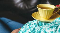 هل الشاي الاخضر مضر للحامل