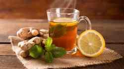 كم يحرق الشاي الأخضر مع الزنجبيل