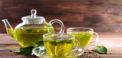 الشاي الاخضر للحمل السريع