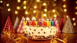 تهنئة عيد ميلاد صديقتي فيس بوك بالانجليزي
