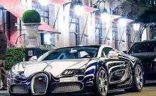 بالفيديو.. السيارة السعودية التي لامثيل لها في العالم والمصنوعة من الذهب الابيض
