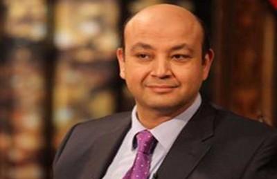 إصابة عمرو أديب في حادث سير