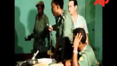 Photo of لقطة من محاكمة عبد الخالق محجوب 1971