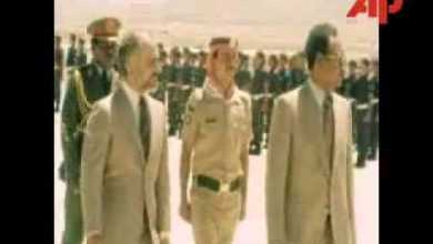 Photo of نميري في الأردن 1978