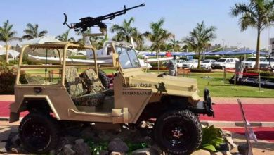 Photo of بالصور: معرض للمنتجات العسكرية السودانية بالخرطوم