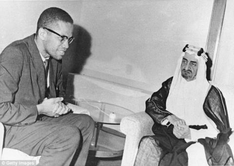 رسالة قديمة من مكة لأمريكا