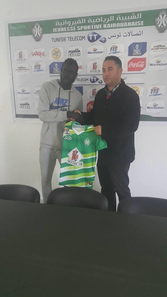 في مفاجأة كبري شبيبة القيروان التونسي يتعاقد رسمياً مع اللاعب السوداني الضجة شيبوب