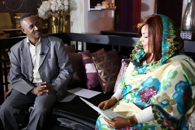 قناة إسكاي نيوز تسجل زيارة للمطربة السودانية ندى القلعة