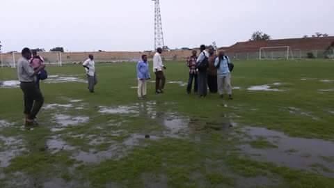 الأمطار تتسبب في تأجيل مباراة المريخ والرابطة كوستي