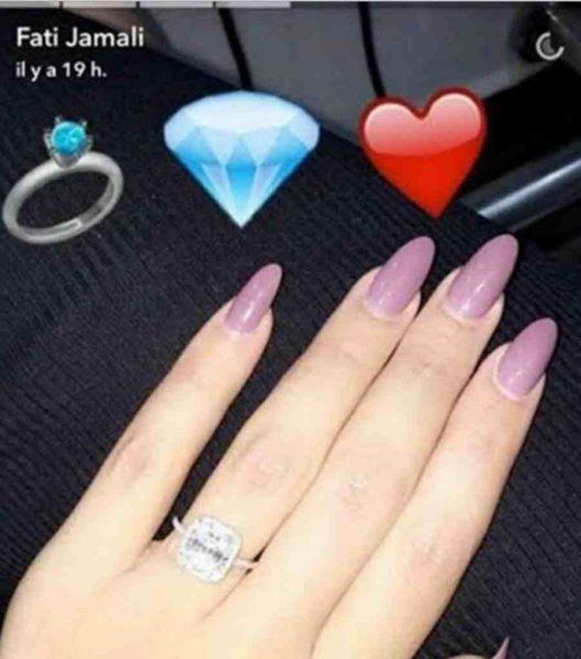ملكة جمال العرب تثير تساؤلات متابعيها بسبب خاتم ألماس1