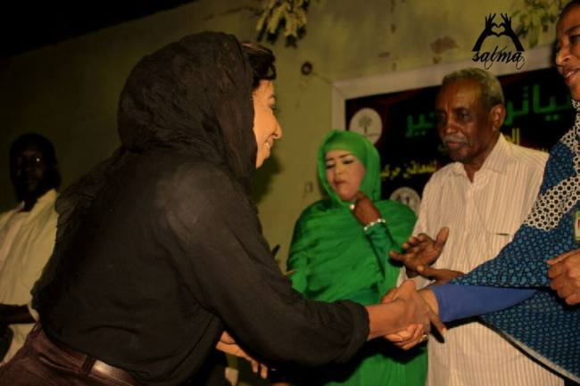 اختيار الفنانة نسرين هندي سفيرة للتطوع