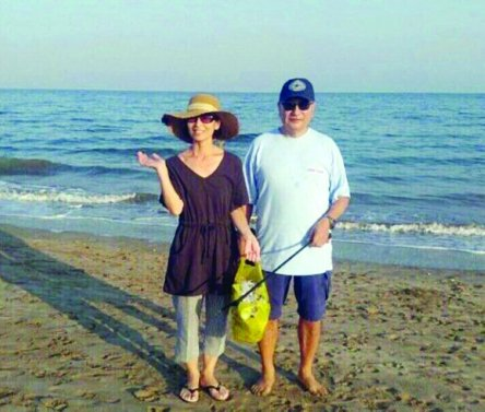 سفير اليابان و زوجته