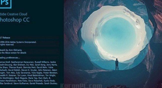 تصميم مصري يتصدر غلاف إصدار «فوتوشوب» الجديد: صورة تُسمى «السقوط»