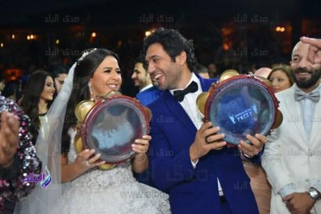 حفل زفاف إيمى سمير غانم وحسن الرداد